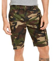 club room men's camo cargo shorts, created for macy's
