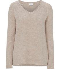 tröja viplace v-neck knit top