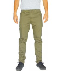 jeans skinny elasticado verde olivo old tree