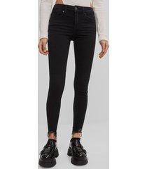 skinny jeans met lage taille