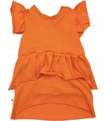 sukienka letnia dziecięca orange