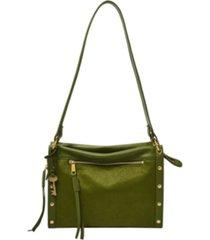fossil women's allie leather satchel