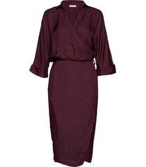 gigi dress knälång klänning röd ahlvar gallery