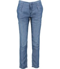 tommy hilfiger soepele lyocell ankle chino denim look