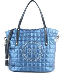 cartera azul xl emilse tote
