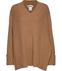 moon sweater gebreide trui bruin hope