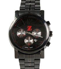 reloj negro billionz metalic