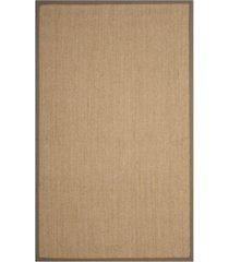 safavieh natural fiber maize and gray 6' x 9' sisal weave area rug
