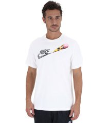 camiseta nike tee remix 2 - masculina - off white