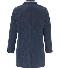jas met lange mouwen en staande kraag van anna aura blauw