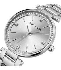 reloj mini focus mf0031l-3 mujer plata