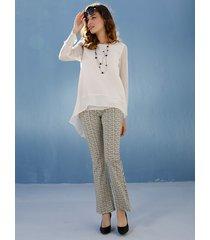 jeans amy vermont beige::black