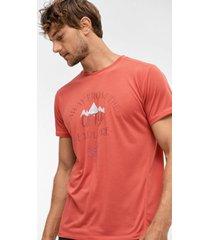 trekking-t-shirt med kort ärm