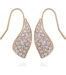 t tahari women's fashionable florals drop earring