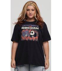 camiseta catastrophe vs pandamonium