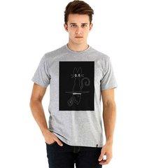 camiseta ouroboros manga curta blackcat