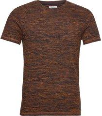 multicolor b t-shirts short-sleeved orange tom tailor