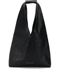 brunello cucinelli wrap tote bag - black