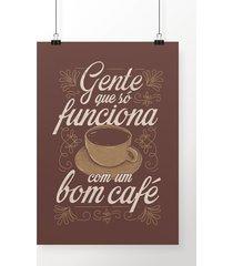 poster bom café