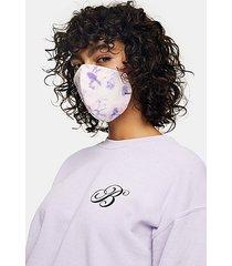 *multicolored tie dye fashion face mask - multi