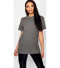 basic oversized boyfriend t-shirt, houtskool