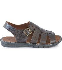 sandalia marrón briganti hombre moroke