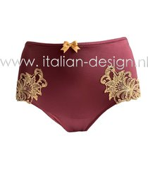 ambra lingerie slips titanium culotte rood 1433