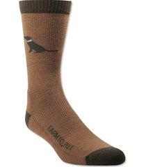 farm to feet labrador socks / farm to feet labrador socks, chocolate lab, x large