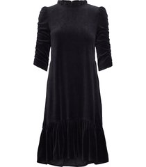 marion dress knälång klänning svart odd molly