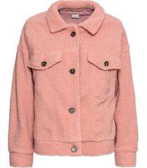 giacca in pellicciotto sintetico (rosa) - bodyflirt