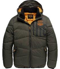 hooded jacket dreamlifter olive night