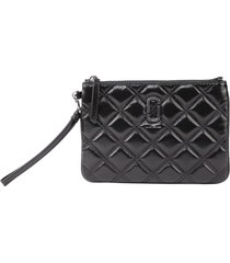 marc jacobs pouch the quilted softshot wristlet