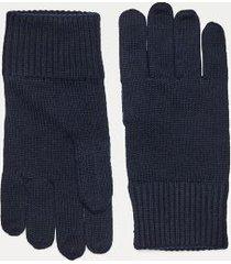tommy hilfiger men's cotton gloves desert sky -