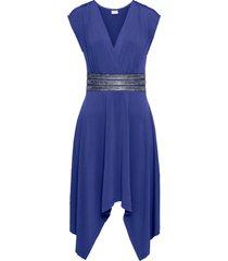 abito con fondo a punte (blu) - bodyflirt boutique