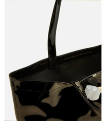 ted baker women's haricon bow small icon tote bag - black