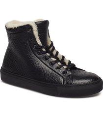 elpique low cut rhino shoes boots ankle boots ankle boots flat heel svart royal republiq