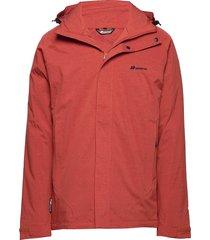 randers 2-layer techincal jacket outerwear sport jackets röd skogstad