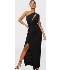 nly one drape asymmetric dress maxiklänningar