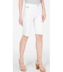 inc denim bermuda shorts, created for macy's