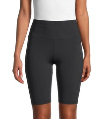 cupcakes and cashmere women's bike shorts - black - size xs