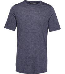 mens sphere ss crewe t-shirts short-sleeved blå icebreaker