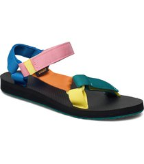 w original universal shoes summer shoes flat sandals multi/mönstrad teva