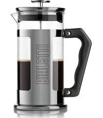 cafeteira french press preziosa negrito 1 litro bialetti
