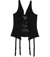 chantal thomass bustiers, corsets & suspenders