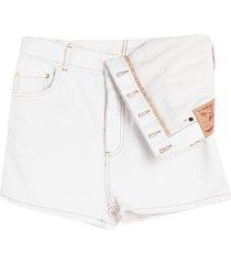 y/project denim shorts