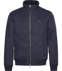 d1. hampshire jacket bomberjack jack blauw gant