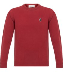 wood wood yale red archway long sleeve t-shirt 5505-4082