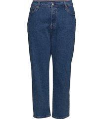 pl 501 crop jive st wash raka jeans blå levi's plus
