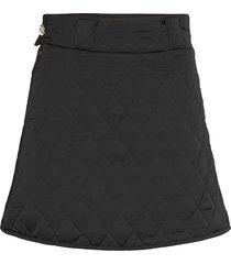 sallycras skirt kort kjol svart cras
