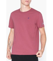 champion reverse weave crewneck t-shirt t-shirts & linnen heather rose